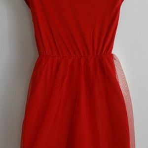 Dresses - Girl's Red Christmas Dress New with tags